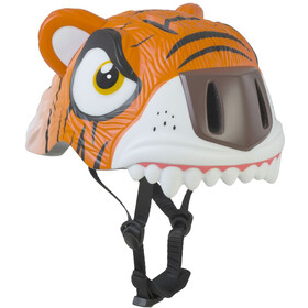 Crazy Safety Tiger - Casque de vélo Enfant - orange/blanc